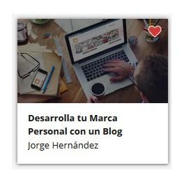 Desarrolla tu Marca Personal con un Blog