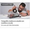 Fotografía Creativa en Estudio con Modelos a Escala