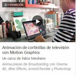 Animación de Cortinillas de Televisión con Motion Graphics