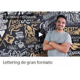 Lettering de Gran Formato