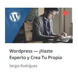 Wordpress - Hazte Experto y Crea Tu Propia Web Profesional