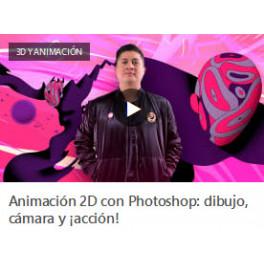 Animación 2d con Photosho. Dibujo, Cámara, Acción