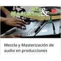 Mezcla y Masterización de Audio en Producciones Musicales