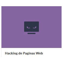 Hacking de Páginas Web