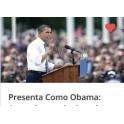 Presenta como Obama - Iván Carnicero
