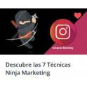 Descubre las 7 Técnicas Ninja Marketing Para Instagram