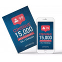 Consigue 15000 Seguidores en 1 Semana