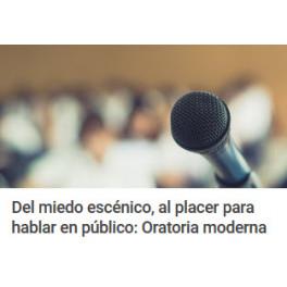 Del Miedo Escénico Al Placer Para Hablar en Público