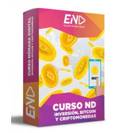 Curso ND Inversión, Bitcoin y Criptomonedas
