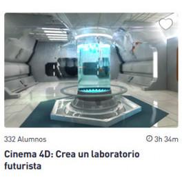 Cinema 4D: Crea un laboratorio futurista