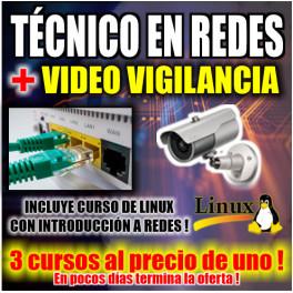 Técnico en Redes, Videovigilancia y Linux