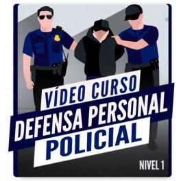 Defensa Personal Policial. Nivel 1