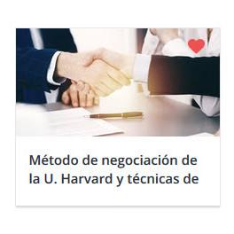 Método de negociación de la U. Harvard y técnicas de PNL