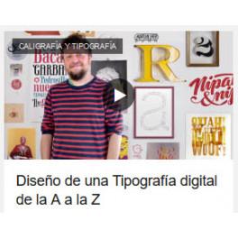 Diseño de una Tipografía digital de la A a la Z