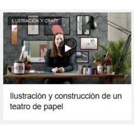 Ilustración y construcción de un teatro de papel