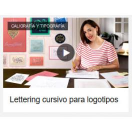 Lettering cursivo para logotipos