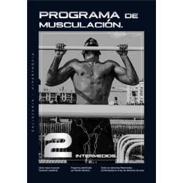 Programa de entrenamiento intermedios (Hipertrofia Muscular)