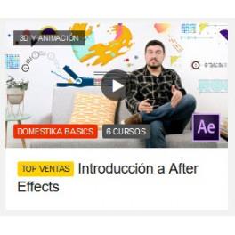 Introducción a After Effects (6 Cursos)