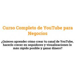 Curso Completo de Youtube Para Negocios