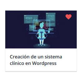 Creación de un sistema clínico en Wordpress