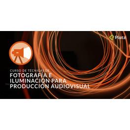 Curso de Técnicas de Fotografía e Iluminación para Producción Audiovisual