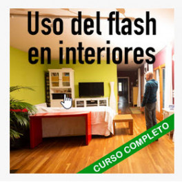 Uso del flash en interiores