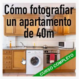 Cómo fotografiar un apartamento de 40m