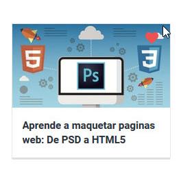 Aprende a maquetar paginas web. De PSD a HTML5