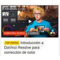 Introducción a DaVinci Resolve para corrección de color