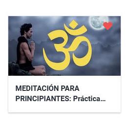 Meditación para principiantes - Práctica trascendental