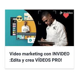Video marketing con INVIDEO - Edita y crea VÍDEOS PRO