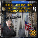 Curso para invertir en acciones como Warren Buffet