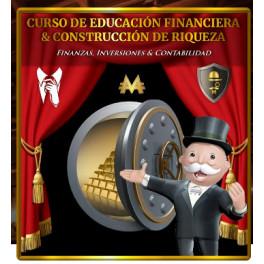 Curso de educación financiera y construcción de riqueza