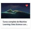 Curso completo de Machine Learning - Data Science con Rstudio