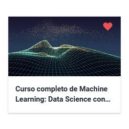 Curso completo de Machine Learning - Data Science con Rstudio