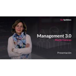 Curso de management 3.0 - Mayte Cáceres