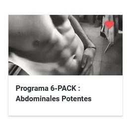 Programa 6-PACK . Abdominales Potentes y Esculpidos