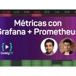 Visualiza métricas de prometheus con grafana