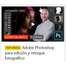 Adobe Photoshop para edición y retoque fotográfico