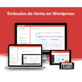 Embudos de venta en wordpress