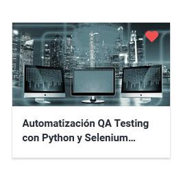 Automatización QA Testing con Python y Selenium WebDriver