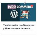 Tiendas online con Wordpress y Woocommerce de cero a experto