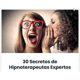 30 secretos de hipnoterapeutas expertos