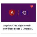 Angular - Crea páginas web con filtros desde 0 (Angular 10+)