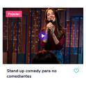 Stand Up Comedy Para No Comediantes