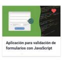 Aplicación para validación de formularios con JavaScript