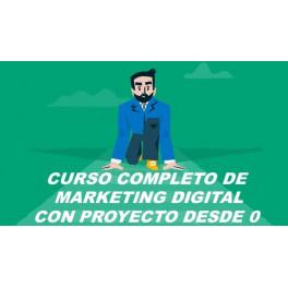 Curso Completo de Marketing Digital - Con Proyecto desde 0