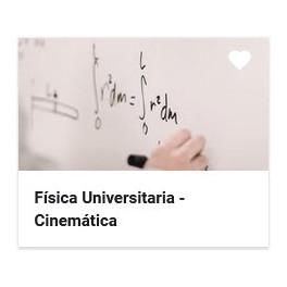 Física universitaria - Cinemática