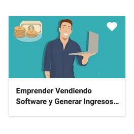 Emprender vendiendo software y generar ingresos recurrentes
