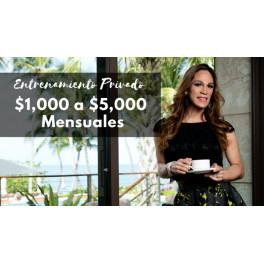 Entrenamiento Privado $1000 a $5000 mensuales